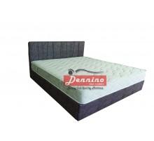 Dennino - Κρεβάτι λοξό γαζωτό 140Χ200  SKU:00703