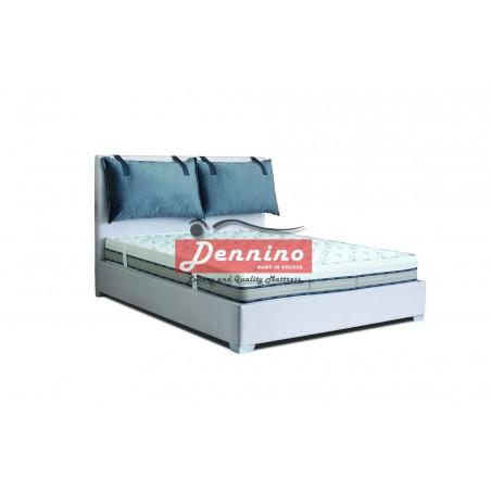 Dennino - Κρεβάτι με μαξιλάρες MAX77 140Χ200  SKU:00711