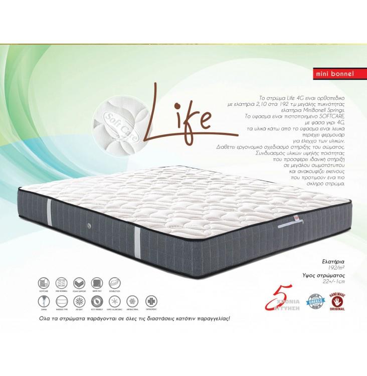 Dennino - LIFE 4G 120X190-200 SKU:00248