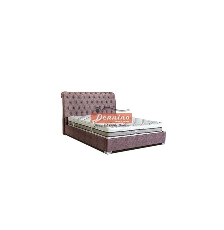 Dennino - Κρεβάτι καπιτονέ SKU:00707