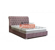 Dennino - Κρεβάτι καπιτονέ 140Χ200  SKU:00703